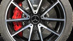 Los poderosos frenos del M-B GT AMG