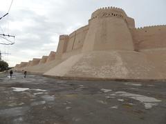 DSCN5422 (bentchristensen14) Tags: uzbekistan citywall khiva ichonqala