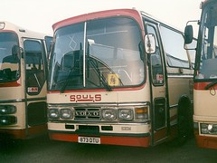 Souls 873 DTU (quicksilver coaches) Tags: souls volvo dominant olney b10m duple 873dtu enf552y