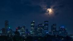 Moonset over Sydney (alexkess) Tags: morning moon clouds early sydney australia nsw goodmorningsydney