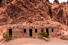 Valley of Fire Cabin (http://fineartamerica.com/profiles/robert-bales.ht) Tags: statepark camping red valleyoffire beautiful buildings wow spectacular landscape photo sandstone colorful superb lasvegas hiking awesome nevada fineart scenic surreal peaceful sensational inspirational spiritual sublime magical tranquil magnificent inspiring sanddunes flicker mojavedesert haybales stupendous petrifiedwood rockformation conglomerates limestones shales lakemeadnationalrecreationarea indianpetroglyphs nationalnaturallandmark canonshooter erodedsandstone anasaz nevadascenicbyway robertbales rockorstone