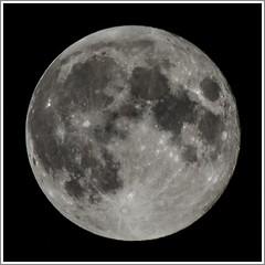 Lunar again (Maw*Maw) Tags: moon night canon lens stars eos full 7d l lunar 100400mm