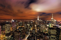 Top of the Rock (Lue Huang) Tags: city nyc newyork canon manhattan citylife empirestatebuilding nightview 1740mm topoftherock gebuilding topoftherockobservationdeck 5dmarkiii