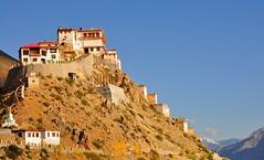 Kye Monastery,Spiti (mala singh) Tags: india mountains buddhism monastery valley himalayas spiti himachalpradesh kyemonastery