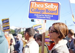 (Lynn Friedman) Tags: theaselby politician ccsfboard 2014 campaign election ballot candidate sanfrancisco ca usa lynnfriedman ccsf education affordable board communitycollege thea selby politics 94114 castro
