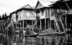 and that really is different (paddy_bb) Tags: travel sea bw house seascape water boat asia cambodia kambodscha ngc siemreap tonlesap 2013 kampongphluk nikond3100 paddybb