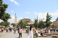 Hagia Sophia, Istanbul, Turkey - July 2014 - 74 (Jimmy - Home now) Tags: turkey river catholic islam istanbul blacksea hagiasophia danube hagiasofia rivercruise bluedanube catholics catholism amawaterways