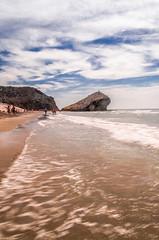 Playa de Monsul (ricardoglezgascon) Tags: beach landscape playa cabodegata playademonsul