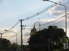 Roadside Buddha - Road to Sukothai_2 - Thailand (ashabot) Tags: travel thailand buddha statues buddhism temples roadside shrines streetscenes lightanddark sukhothai