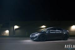 2010 Mazda 3 (Julio (Axela Media)) Tags: light 3 painting custom mazda 2010 enkei rpf1 20l corksport