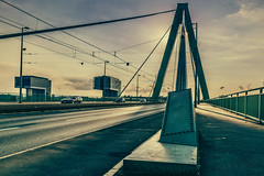 Severiensbrücke in Köln (uw67) Tags: bw köln colonel brücke rhein reine brigde photocina d5300 severiensbrücke