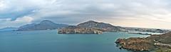 Entrada al puerto de Cartagena (J.A.G. Gallego) Tags: sony cartagena panorámica a99 darktable tamron2470usd