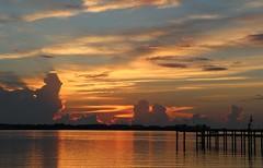 Golden Lagoon Sunrise (tclaud2002) Tags: sunrise golden florida lagoon stuart martincounty sewallspoint indiariver