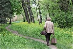 Kifa Cristina - The lonely path (localfuturesphotos) Tags: nature walking easterneurope moldova peopleinnature kifacristina planetlocalphotocontest2014