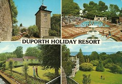Duporth Holiday Resort, St Austell, Cornwall (trainsandstuff) Tags: vintage cornwall postcard retro holidaycamp staustell duporthholidayvillage