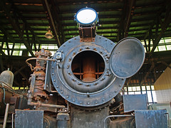 Open Engine 2 (PhillMono) Tags: heritage museum train hope rust centre rail olympus repair restoration locomotive crusty corrosion e30 preservation goulburn