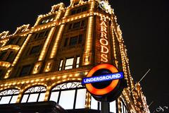 Harrods, Londres 2011 (nere_as) Tags: london navidad luces harrods londres iluminacion