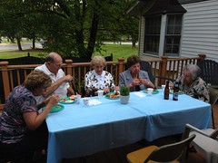 """Alice and Duke Beatus, Grandma Shirley, Grandma Montopoli, and Doris Ruscetti at Paul's First Birthday Party • <a style=""""font-size:0.8em;"""" href=""""http://www.flickr.com/photos/109120354@N07/15383568495/"""" target=""""_blank"""">View on Flickr</a>"""