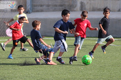 like Messi or Ronaldo (Negba - ) Tags: canon children israel football soccer enfants tamron  association  70300  600d tamronaf70300mmf456divcusdif