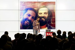 Aaron Patterson @tenderlove (foxwwweb) Tags: digital october russia moscow software developers rails conference ruby 2014    aaronpatterson tenderlove    railsclub