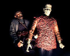 Bela Lugosi as Ygor and Boris Karloff as Frankensteins Monster 9143 (Brechtbug) Tags: pictures new york city shadow portrait green film halloween face its monster movie studio toy toys james scary moody shadows zombie mary young son frankenstein hollywood horror terror boris undead whale monsters universal alive shelley creature transylvania bela igor collectibles 1939 sideshow fright collectable ygor cadaver lugosi 2014 karloff frankensteins