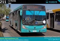 211 | La Florida - Nos (Mr. Mobitec) Tags: chile santiago bus buses mercedesbenz caio publictransport transporte santiagodechile 211 transantiago transportepúblico lacisterna granavenida caiomondego subuschile busesmetropolitana metrolacisterna o500u caioinduscar mondegoh intermodallacisterna metbus serviciosdeapoyo