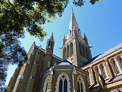 Sacred Heart Cathedral (brentflynn76) Tags: building tower church stone architecture photo heart cathedral religion australia victoria spire sacred bendigo