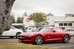 SLS AMG (Jesse See - My World of Cars) Tags: mercedes benz mercedesbenz sls amg slsamg mercedessisamg