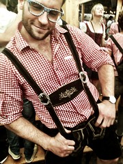 Wearing my lederhosen with pride!