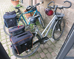His and her bikes (D70) Tags: germany giant bikes her his hercules x2000 maulbronn