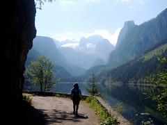 Vorderer Gosausee 933 m und Dachstein (Norbert H. Auer) Tags: austria sterreich dachstein bergsee obersterreich autriche salzkammergut gosausee vorderergosausee