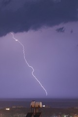 Electrical Storm (Raven Photographic) Tags: sky storm night clouds lightning northcyprus kktc