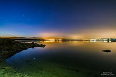 La Noche (BryantBA) Tags: valdemorillo comunidaddemadrid spain es noche medianoche midnight nightscape nightphotography night nature embalse valmayor lake canon5dmarkiii samyang longexposure stars