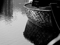 Refections (malp007) Tags: boot reflection water wasser husum hafen harbor nordfriesland light licht blackwhite sw schwarzweis bw einfarbig kontrast object stillleben stilllife outdoor sunshine