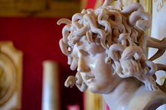 Medusa (A. Nothstine) Tags: rome italy urban city autumn sunlight day capitoline hill history bernini sculpture medusa art museum