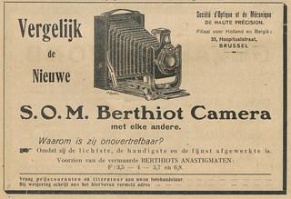 S.O.M. Berthiot Advertisement Januari 1922 (01)
