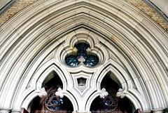 St. James Cathedral Detail (Bill Smith1) Tags: agfavista400 believeinfilm billsmithsphotography heyfsc nikkormatel toronto nikkoro35f2lens