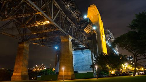 Distant Sydney Opera House