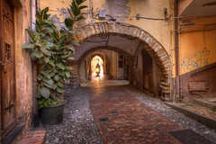 Italy_2759 (mannmadephotos) Tags: arch architecture backstreet bike city cote dazur europe historic house italy liguria medieval mediterranean narrow old remo resort san sanremo scenic scooter sightseeing small street tourism town traditional transport travel winding