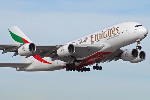 Emirates Airbus A380-800 A6-EUB