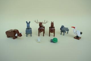 Tablescrap Animals Part 2