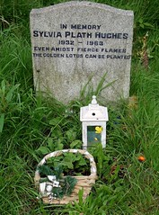 Sylvia Plath (Heptonstall) (MorganaWest) Tags: plath grave