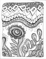 Tangle 232 (kraai65) Tags: doodle zentangle zendoodle drawing