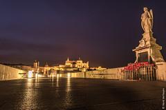 Cordoba Spain - Puente Romano (Henk Verheyen) Tags: cordoba es spain spanje avond longexposure night