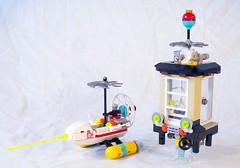 Magic Mountain Time Lab remake (lingonkart) Tags: lego moc timecruisers magicmountaintimelab timetravel laboratory base volcano remake timemachine