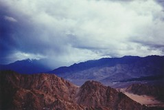 (rqlevy) Tags: canon ftb 35mm fuji slidefilm crossprocessed xpro analog ladakh india summer travel explore nature landscape mountains clouds