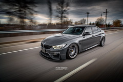 Grigio Telesto F80 M3 (Peter Nowacki) Tags: bmw m3 f80 bmwf80 bmwm3 grigiotelesto bbswheels bbsfir suspension rollingshot motion bimmer highway rollingphoto f82 m4 f30 f32 samyang samyang20mm wide angle autophotography carphotography