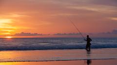 _MG_1716 (treilmann) Tags: beach fisherman seminyak sunset bali fishing
