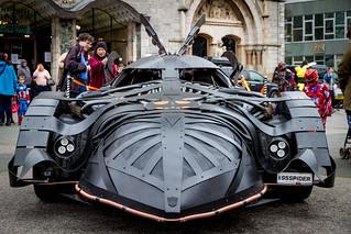 Steampunk Batmobile