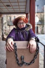 in Ketten (natterjack3) Tags: ampranger schandpfahl pillory